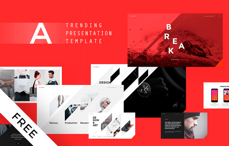 28 Free Keynote Templates With Interactive Design 2020