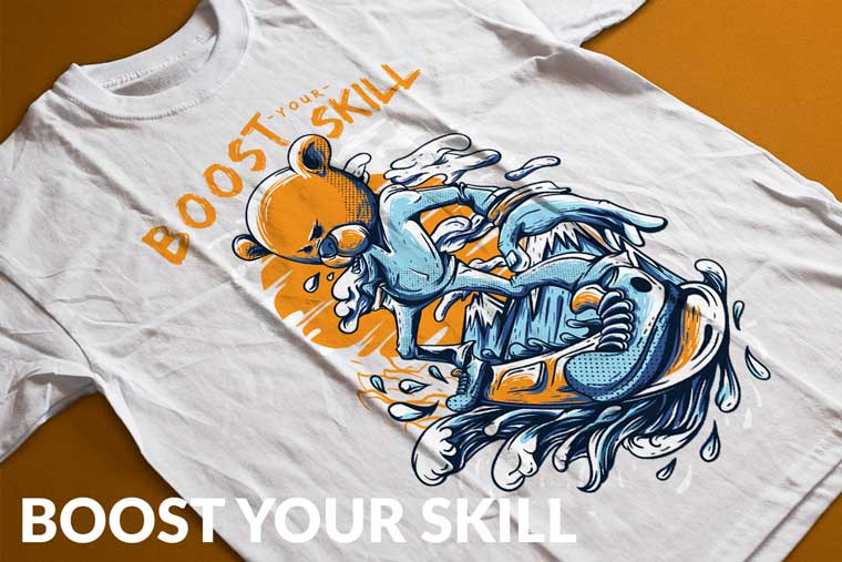 Boost Your Skill T-shirt.