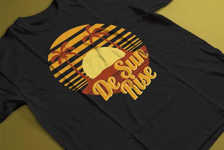 De Sun Rise T-shirt.
