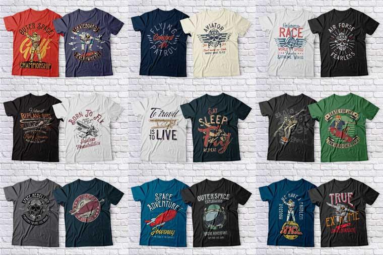 Mega Bundle T-shirt.
