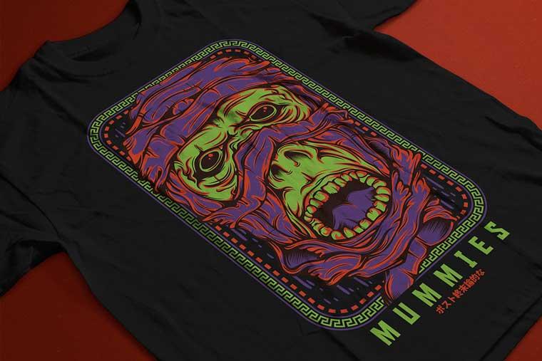 Mummies T-shirt.