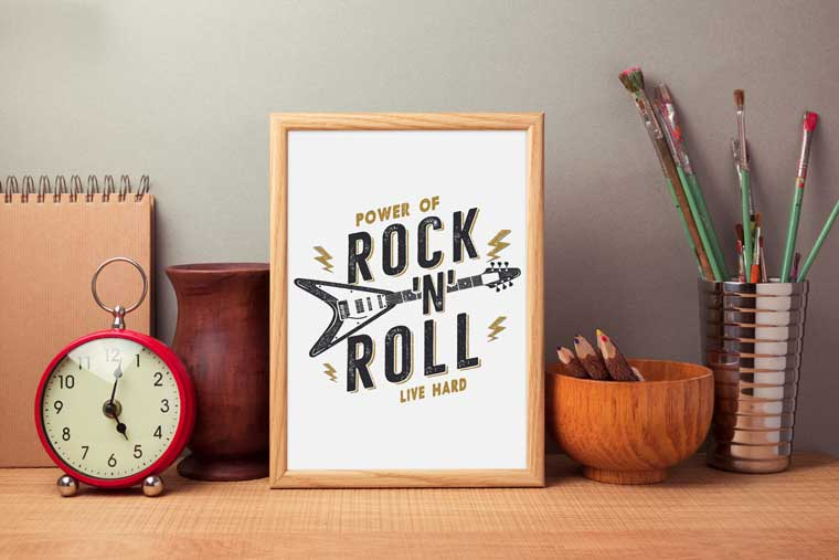 Power of Rock n Roll T-shirt.