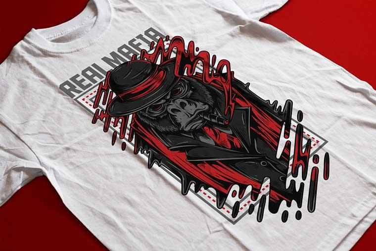 Real Mafia T-shirt.