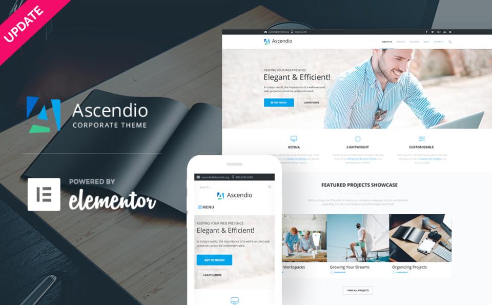 Ascendio Corporate WordPress Theme
