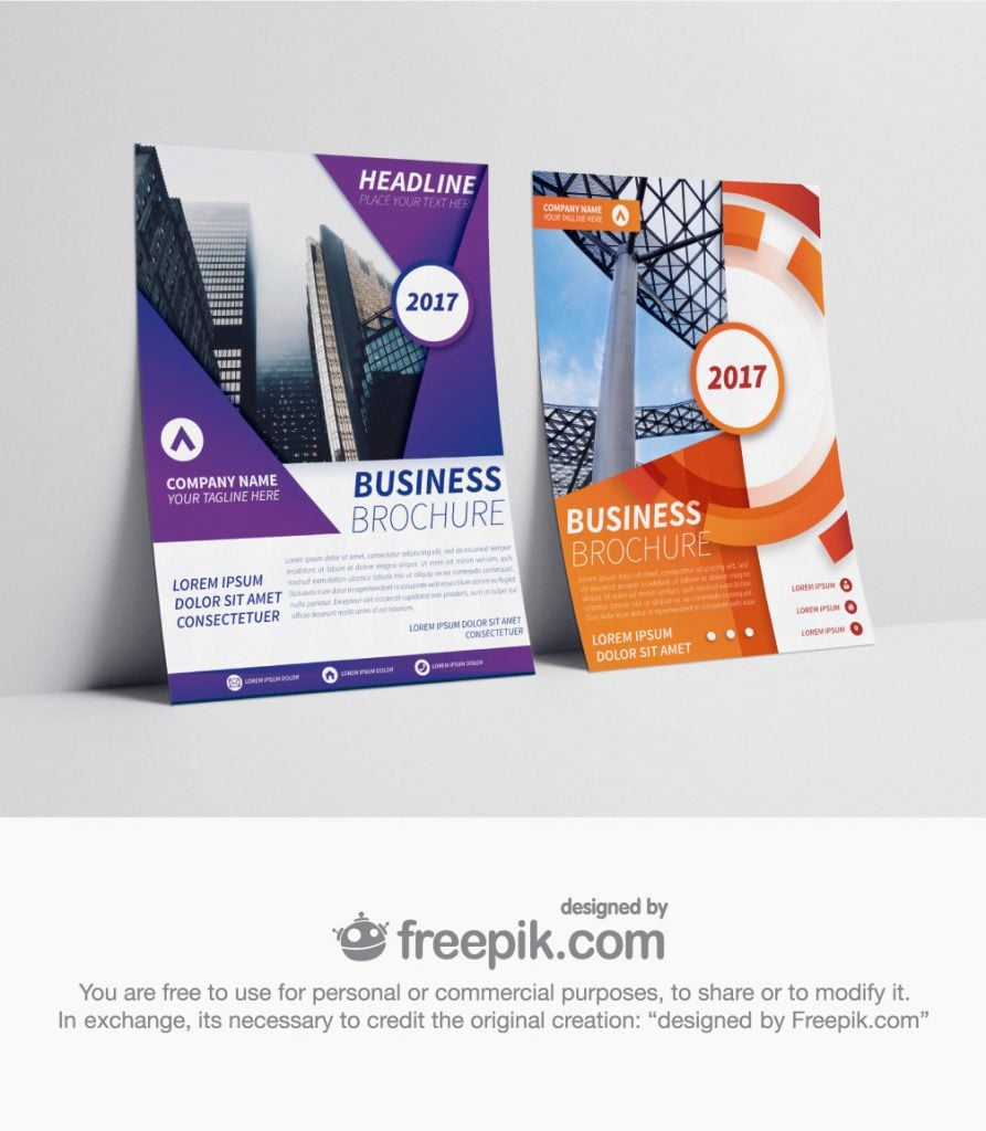 best brochure templates
