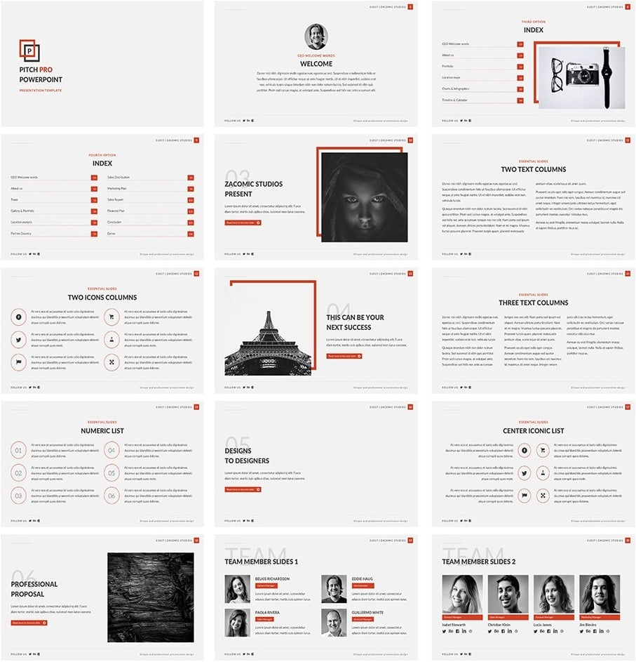 Get Pitch Pro – A Free PowerPoint Template for Business