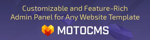 MotoCMS Drag-and-Drop Website Builder