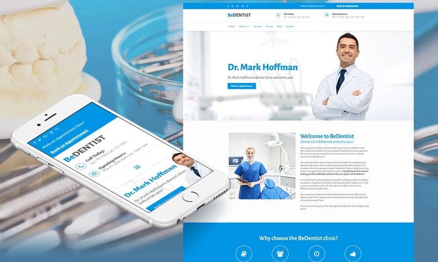dentistry niche website image