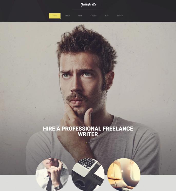 Freelance Writer WordPress Theme