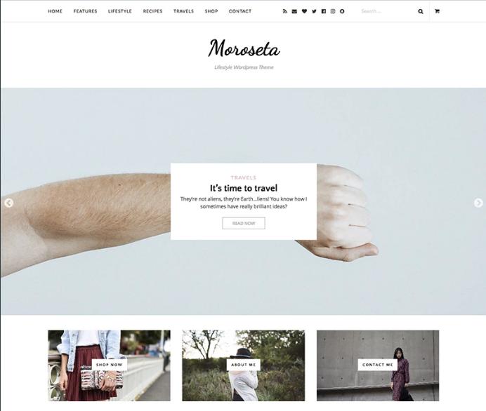 Moroseta WordPress Theme