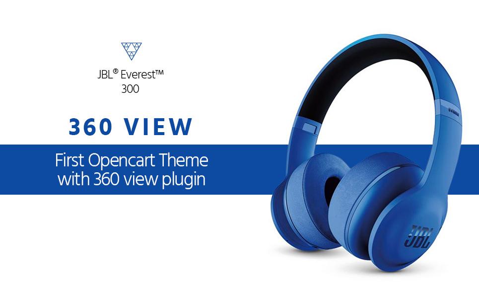 Headphones OpenCart Theme