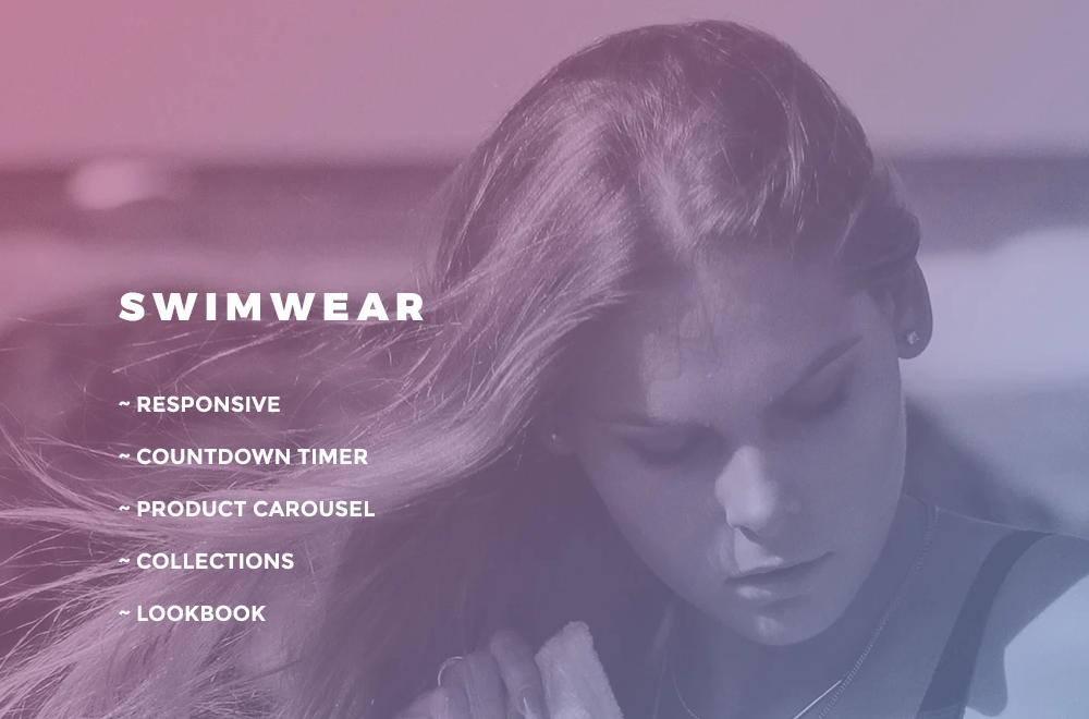Swimwear – Swimwear Responsive OpenCart Template