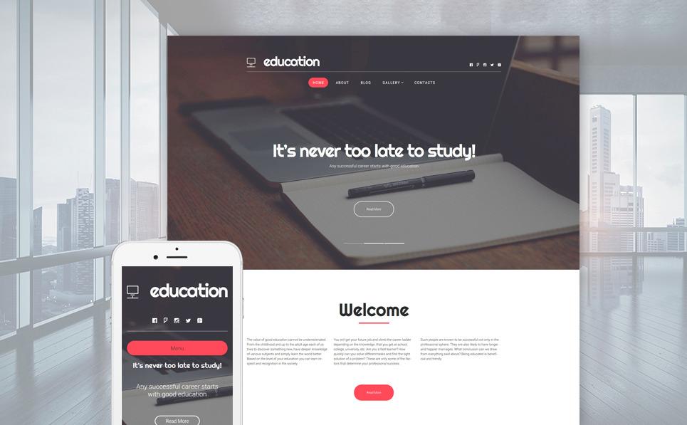 Education Hub WordPress Theme