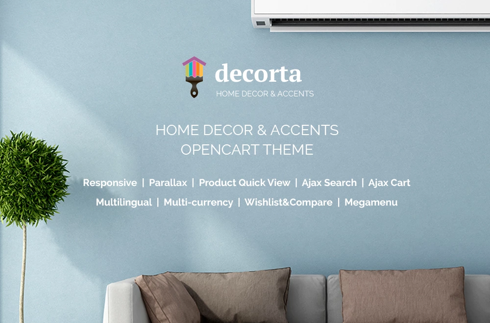 Decorta – Home Decor Responsive OpenCart Template