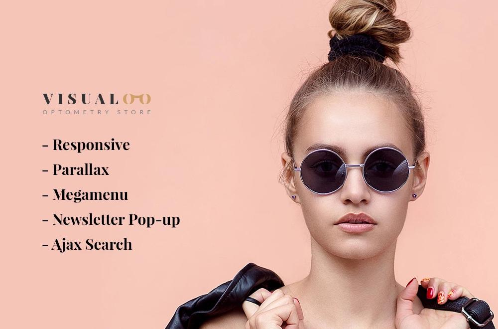 Visual – Eye Glasses Responsive OpenCart Template