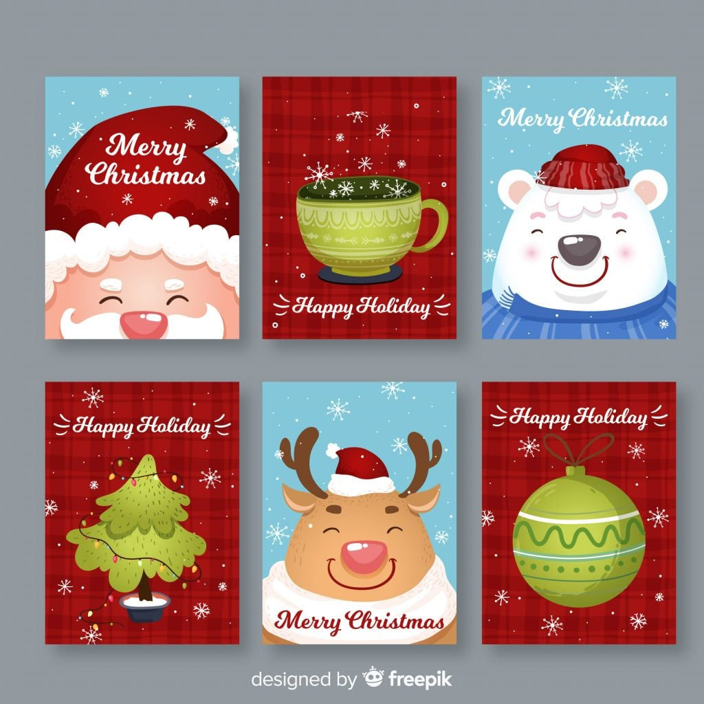 Christmas Card Image Ideas.Stunning Free Christmas Card Designs To Inspire You With New