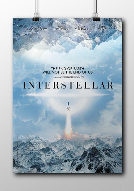 Fan Made Interstellar Movie Posters That Look Better Than Originals
