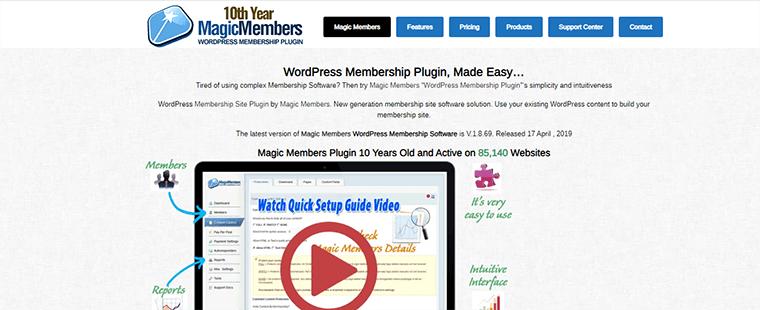 WordPress membership plugin.