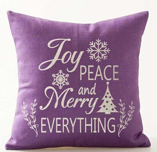 Christmas Pillow Case.