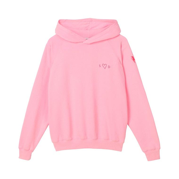 Fleece Hooded Sweatshirt.