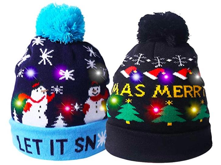 Funny Christmas LED Cap.