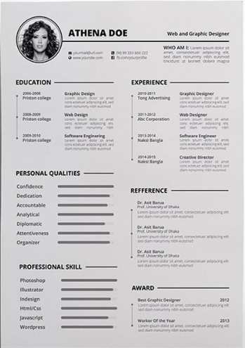google doc resume template