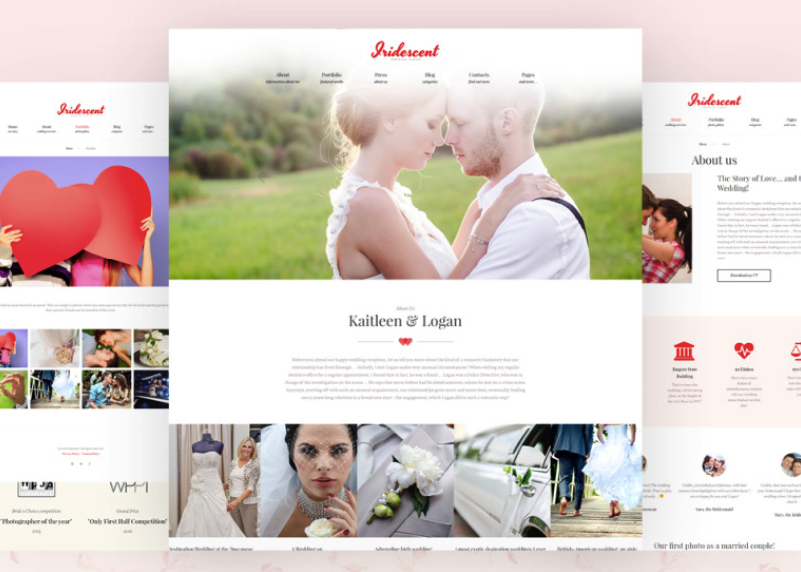 wedding free wordpress theme