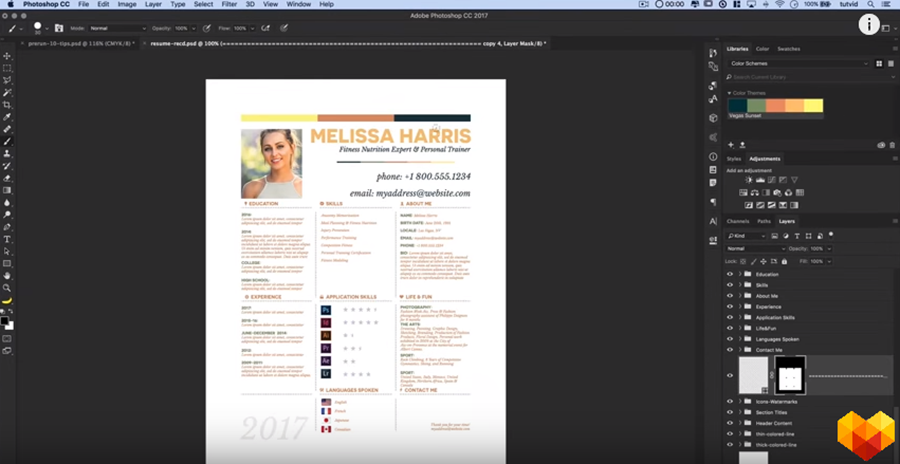 Photoshop Resume Of Your Dreams The Ultimate Step By Step Guide