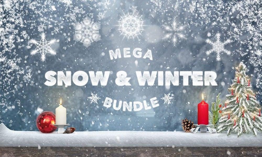 Mega Snow and Winter Bundle Bundle