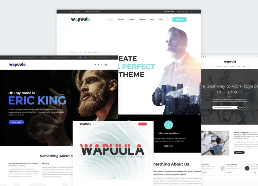 Wapuula WordPress MultiPurpose Theme