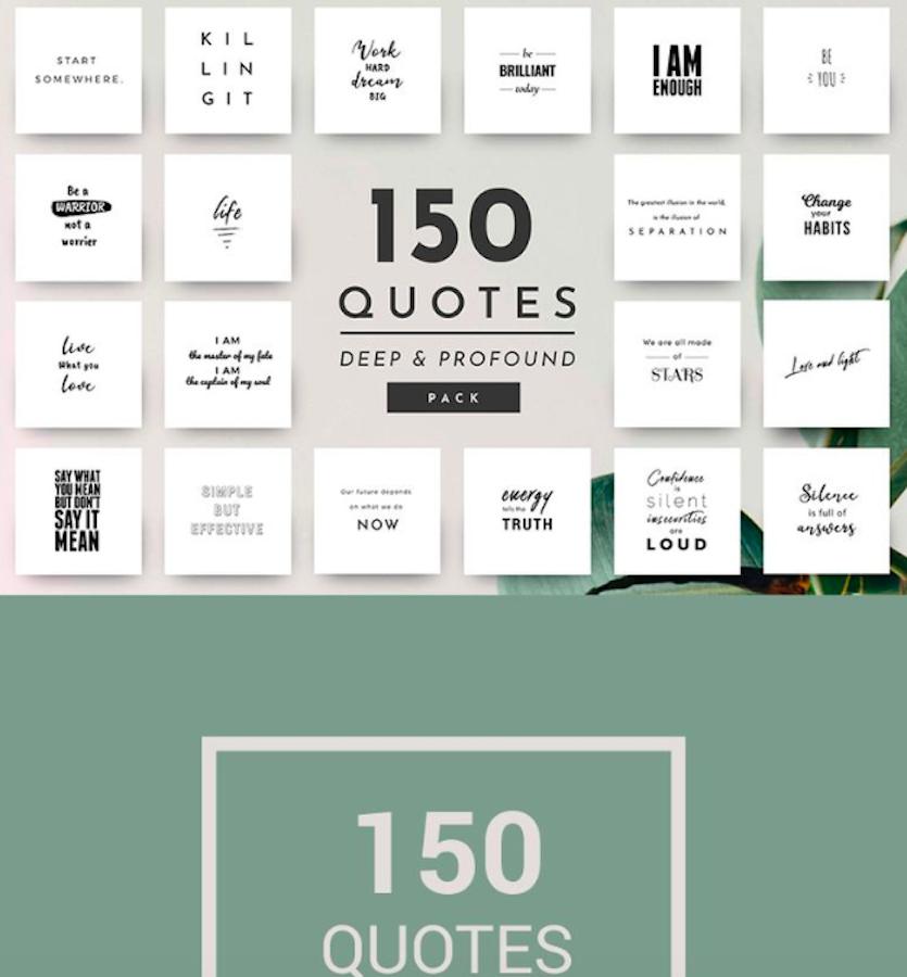 150 Ready-to-use Deep Quotes Social Media