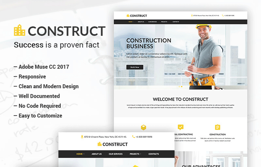 Top 10 Adobe Muse Templates to Build Sites Code-Free
