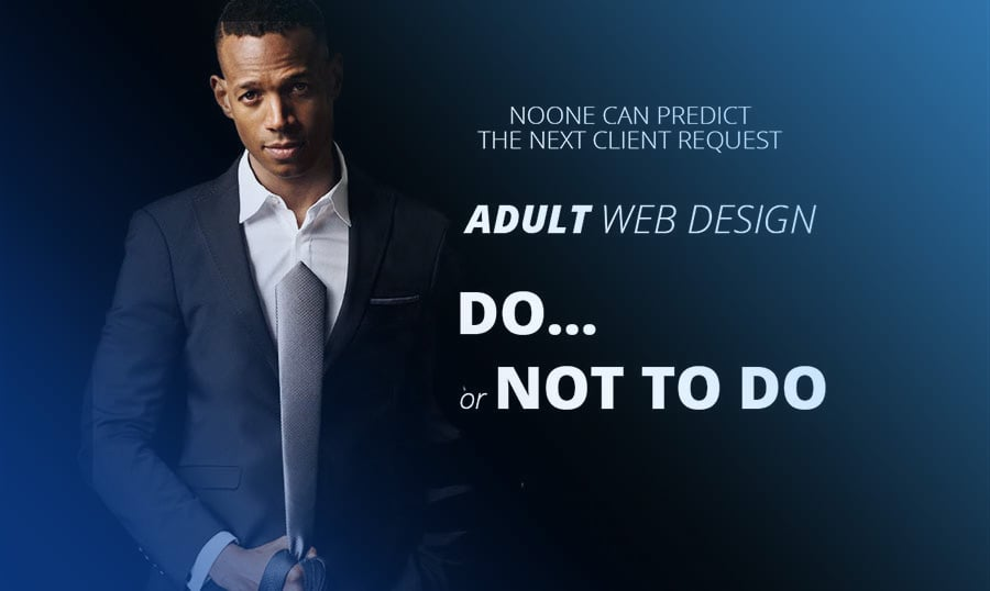 Adult Web Design: Yes or No, and Where to Find the Templates?