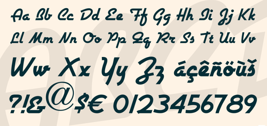 Airstream NF Font