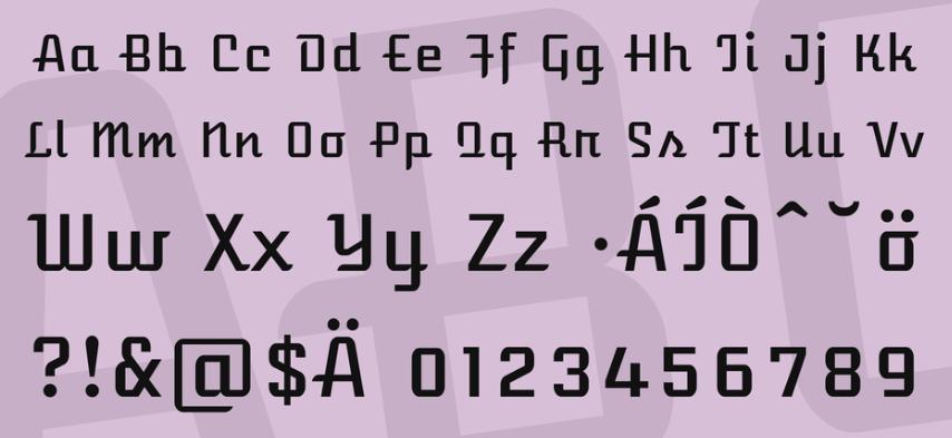 Arizona Airways NF Font
