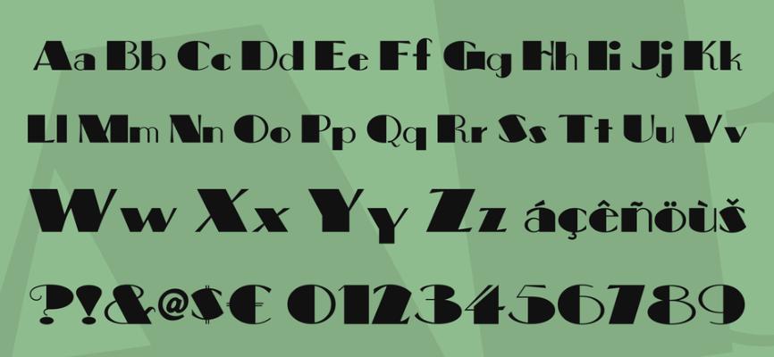 Big Apple NF Font