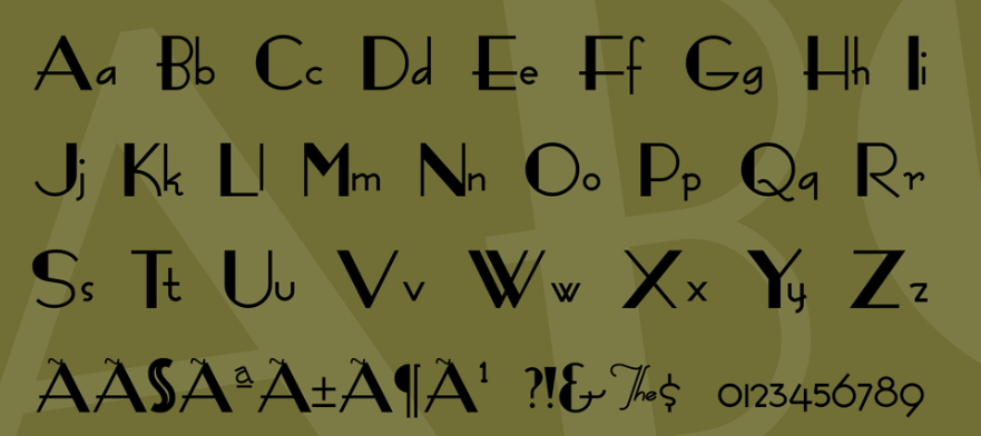 FashionVictim Font