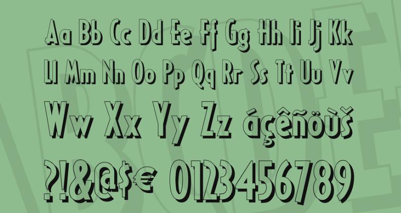 Ricks American NF Font