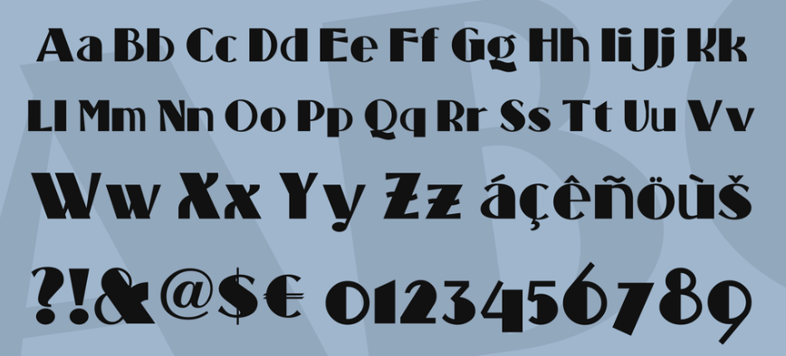 Standing Room Only NF Font