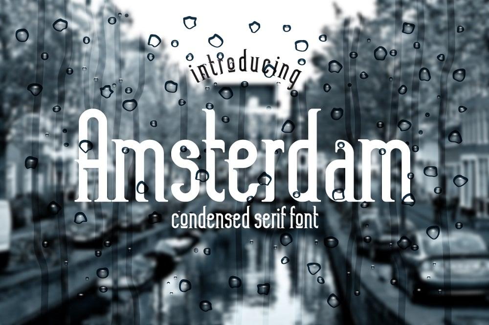 Amsterdam Trendy fonts