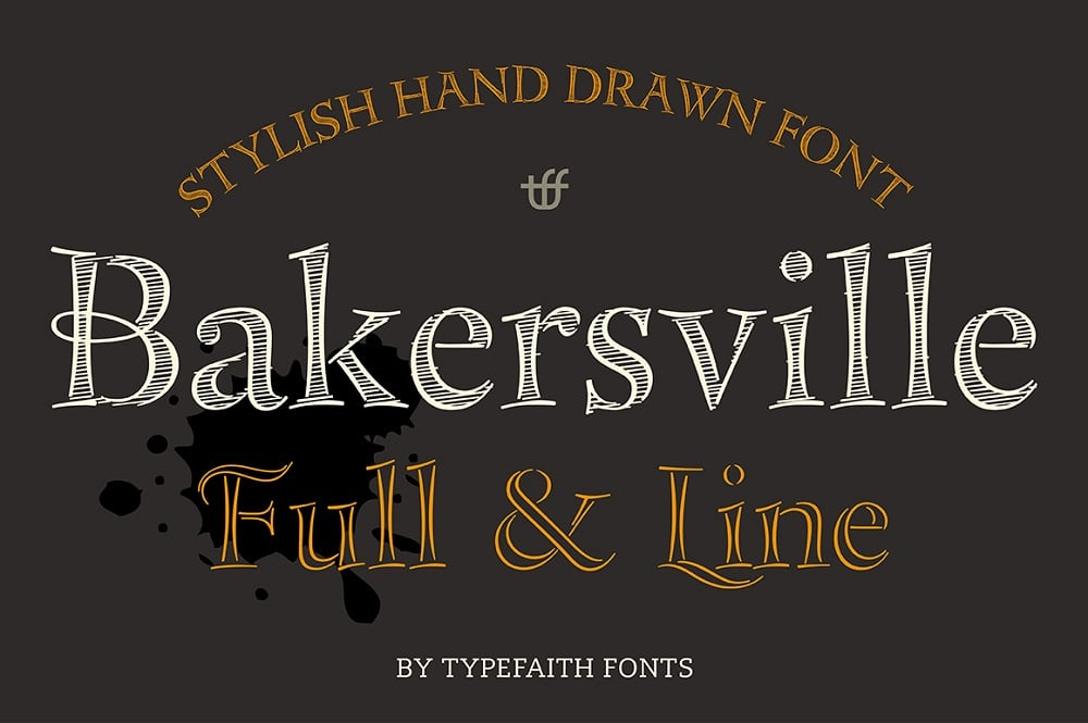 45 Best Examples of Chalk Hand Lettering Fonts