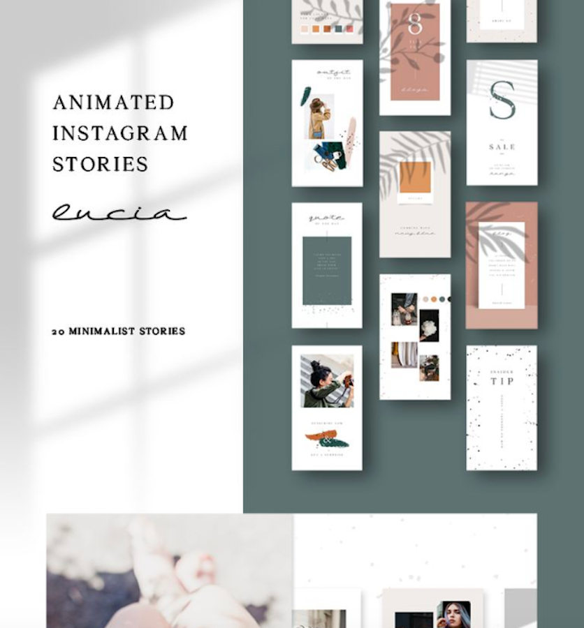 ANIMATED Instagram Stories Lucia Social Media