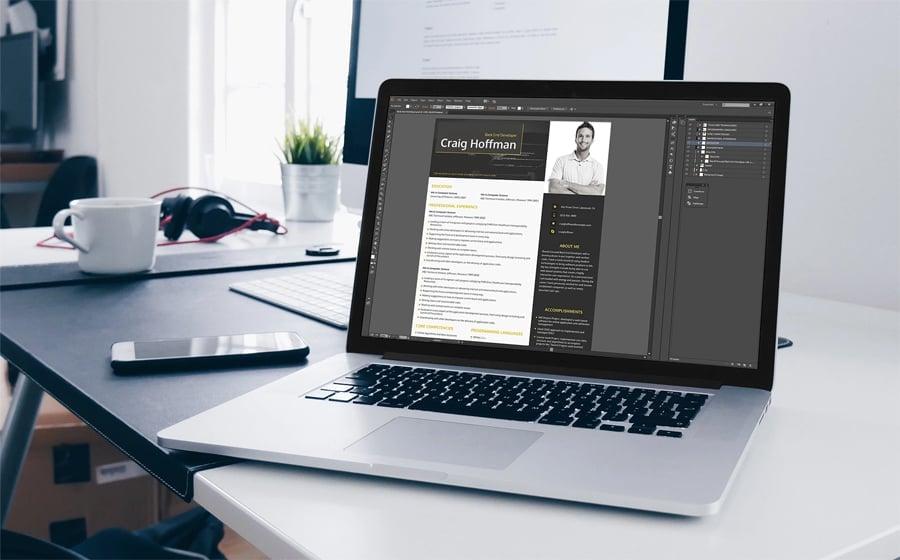 Backend Developer Resume Template