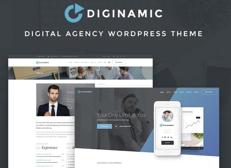 Digital Company WordPress Theme