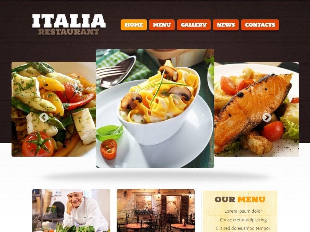 Restaurant of Italian