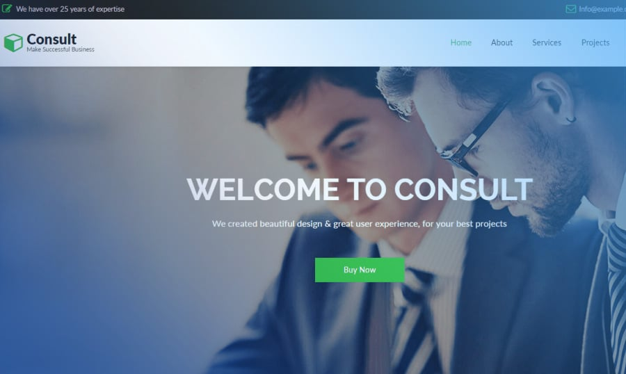 Meet 'TinyDuck' And Their Best-Selling Theme 'CONSULT' [Top Vendor Stories]