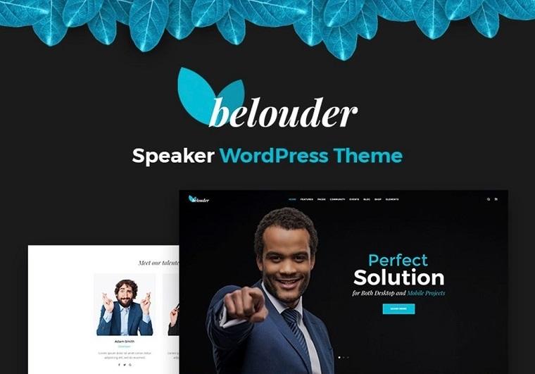 Belouder - Business&Service Responsive WordPress Theme.