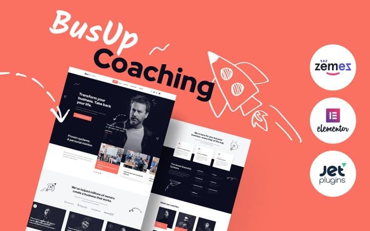 BusUp Elementor WordPress Theme
