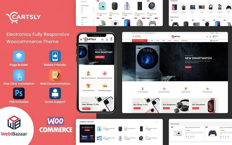 Digital Cartsly E-commerce WooCommerce Theme