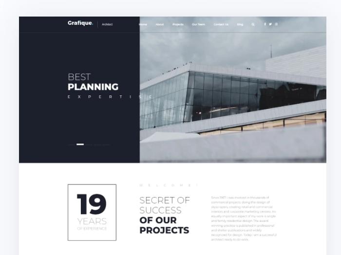 Grafique- ArchitectElementorWordPress Theme